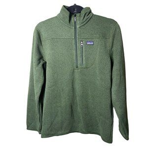Other - Patagonia Boy's Green Better Sweater Zip Neck Size